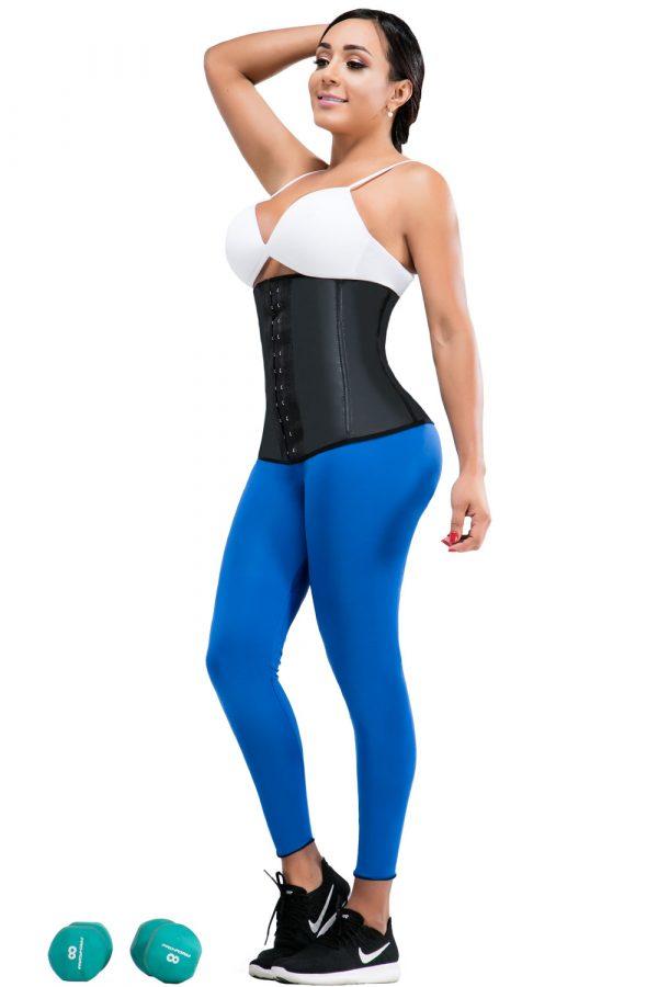 Faja tipo waist cincher en látex para tratamiento control abdomen
